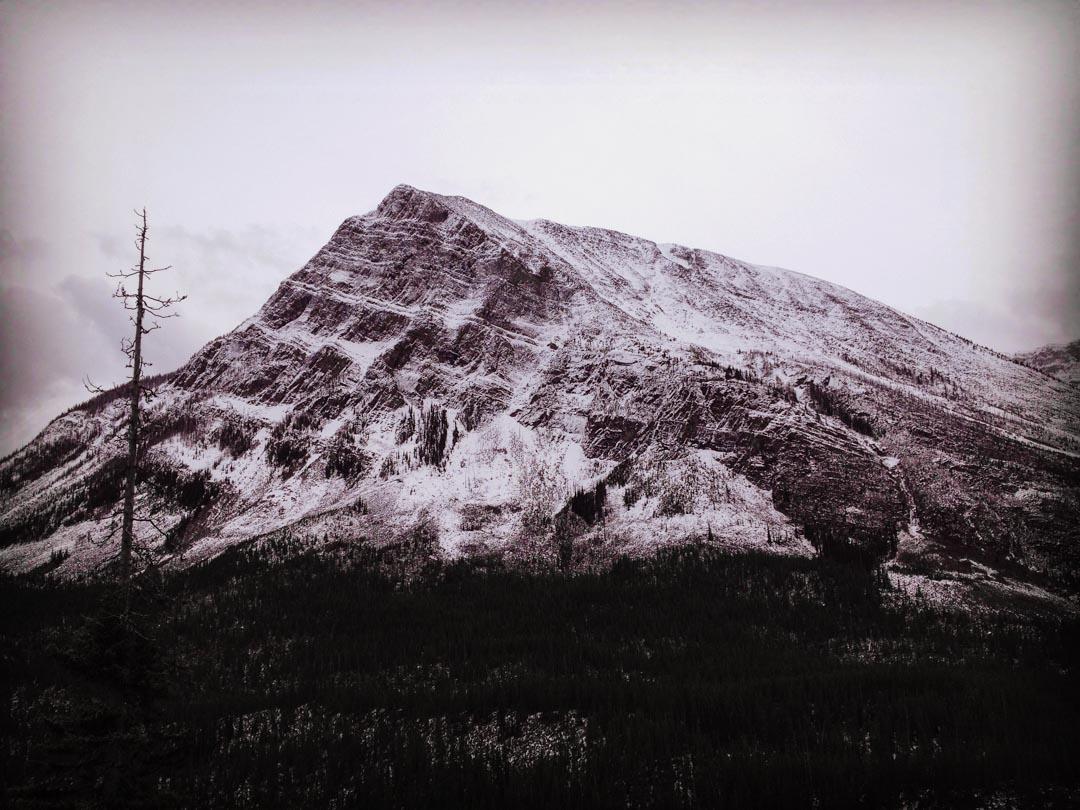 Postkarte Berg